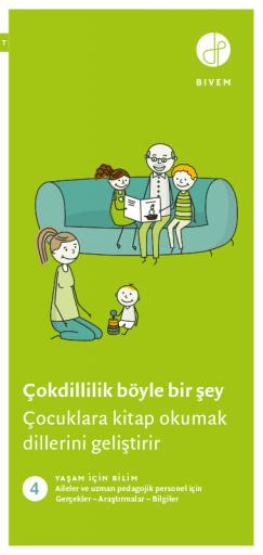 Çocuklara kitap okumak dillerini geliştirir